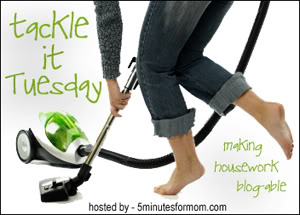 Tackle It Tuesday – My Sewing Space