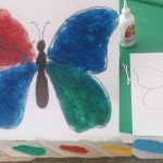 Colored Salt Butterfly