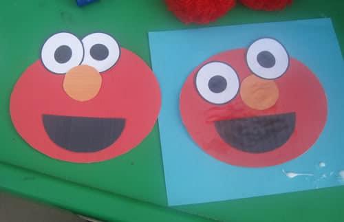 E Is For Elmo Preschool Alphabet Craft Tafhs Com