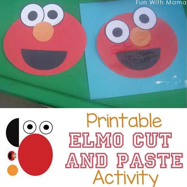 preschool-elmo-craft