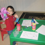 Painting With Barney