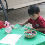 Tissue Paper Coloring