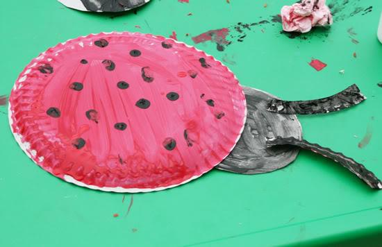 Ladybug Kids Preschool Craft