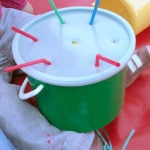 Baby And Toddler Straw Posting Activity