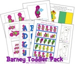 Thumbnail image for Sneak Peak: Barney Toddler Pack
