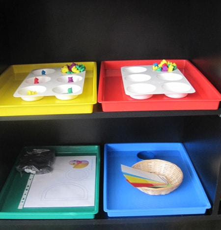 August Tot Trays