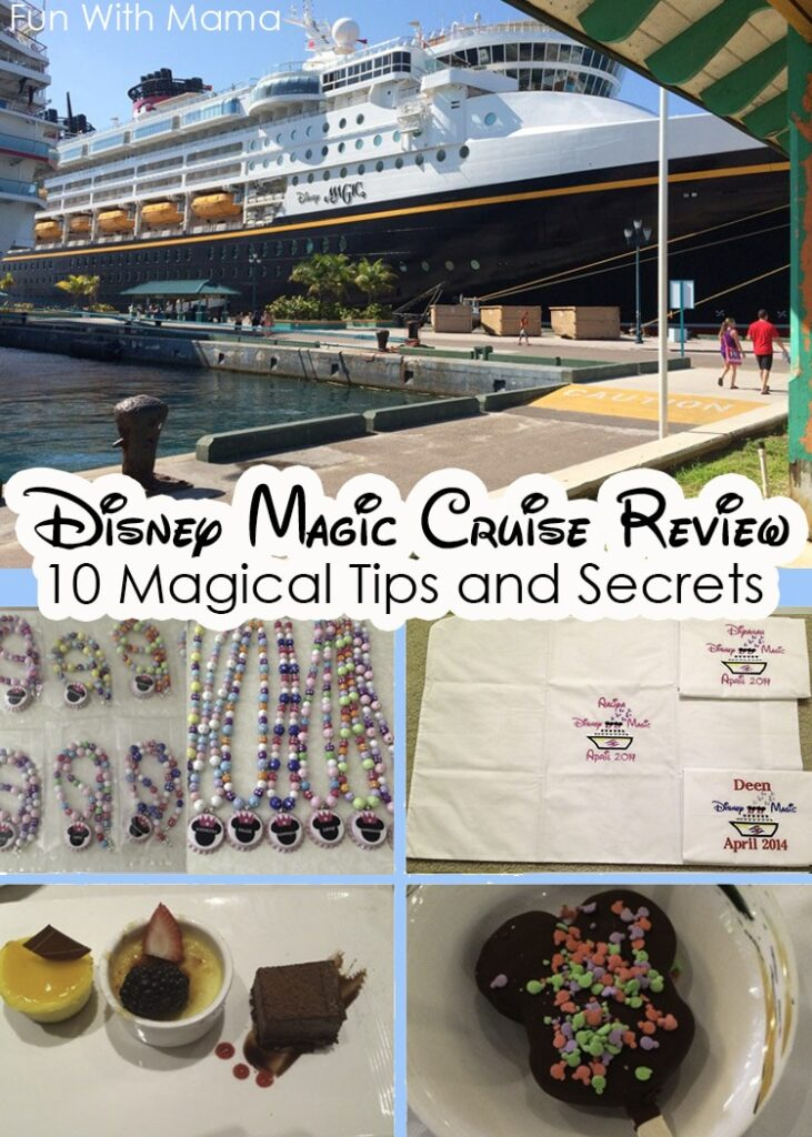 Disney Cruise Line Magic Ship Review with 10 magical tips and secrets to make your family vacation full of adventure and fun