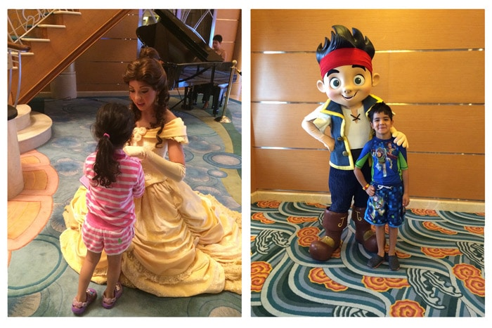 disney cruise meet characters for kids