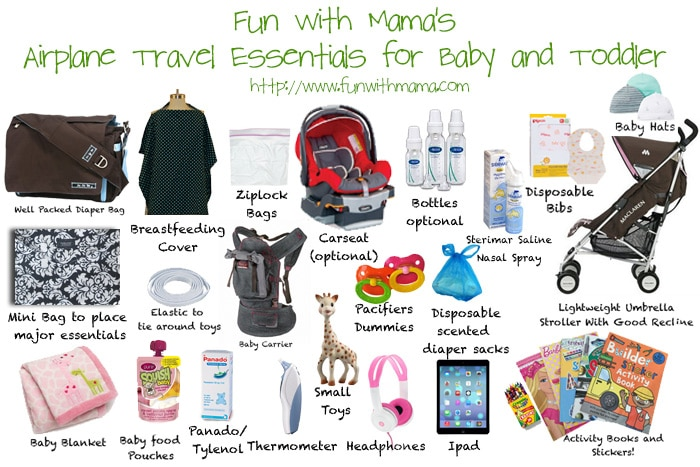 Flying With A Baby Travel Essentials And Flying With A