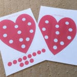 Heart Fine Motor Printable Activity