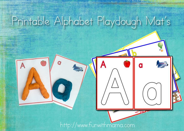 photograph about Free Printable Playdough Mats identified as Alphabet Letter Enjoy Dough Mats, Quantities, and Arabic Figures