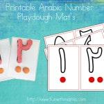 arabic-number-play-dough-mats-activity