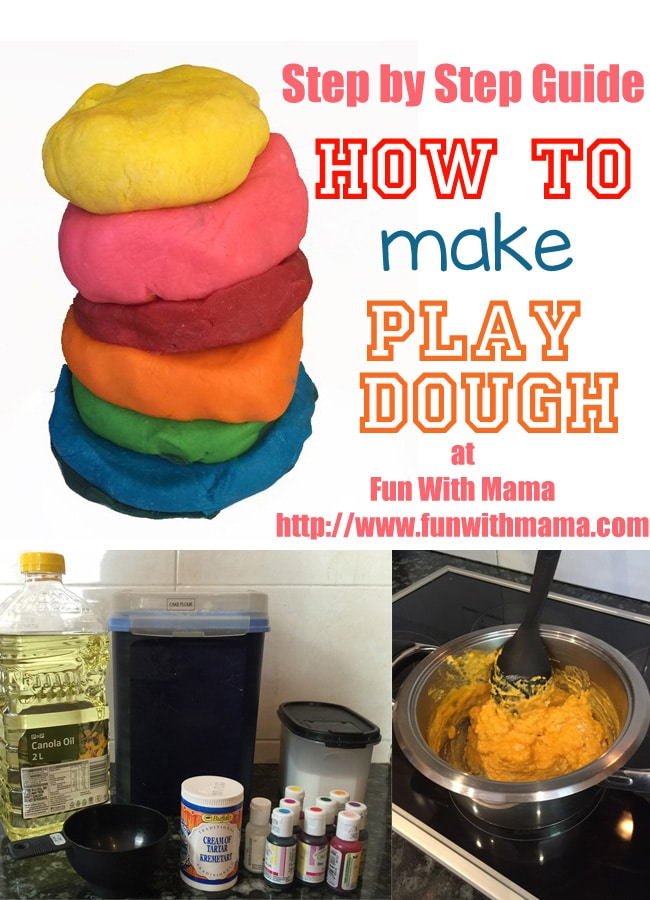 how to make playdough recipe