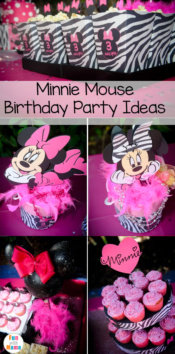 This Post Is Full Of Minnie Mouse Birthday Party Ideas From Invitations And Cake To Decorations We Got You Covered Theme Perfect For