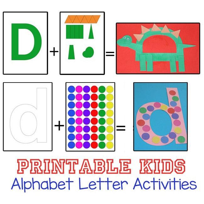 printable alphabet letter activities