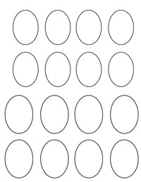picture about Printable Eggs identified as Printable Easter Egg And Bunny Hat - Enjoyable with Mama