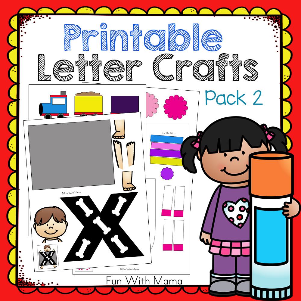 printable-letter-crafts-pack-2