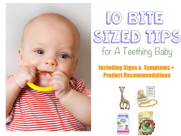 how to make teething treats for baby