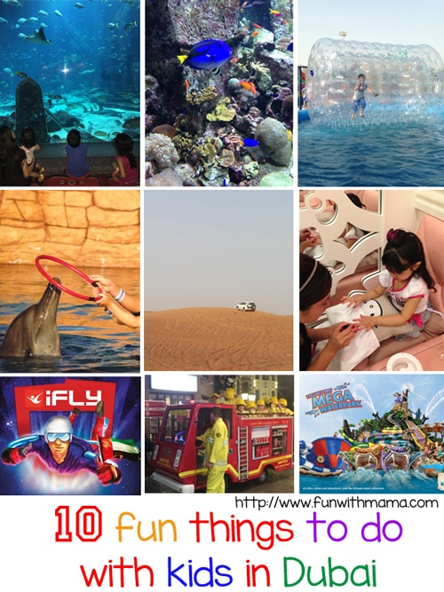 10 fun things to do with kids in dubai