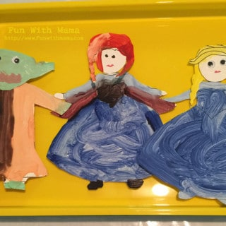 Anna Elsa Yoda Frozen Star Wars Activity Craft