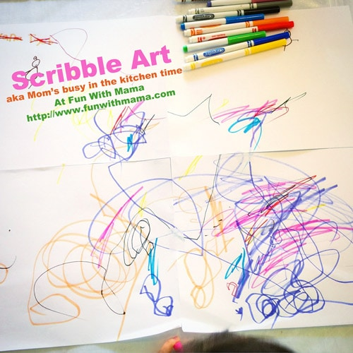 scribble-art-toddlers