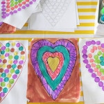 Printable Do A Dot Heart Shapes Activity