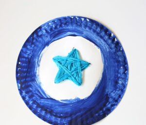 Star shaped kids toddler preschooler art activity
