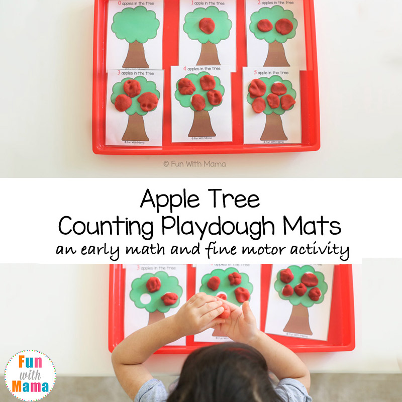 apple activities for preschoolers