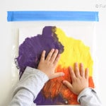 Kids Mess Free Painting Activity