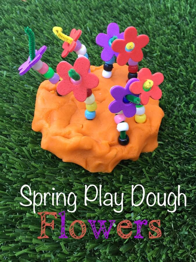 play-dough-flowers