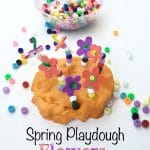 Spring Play Dough Flowers
