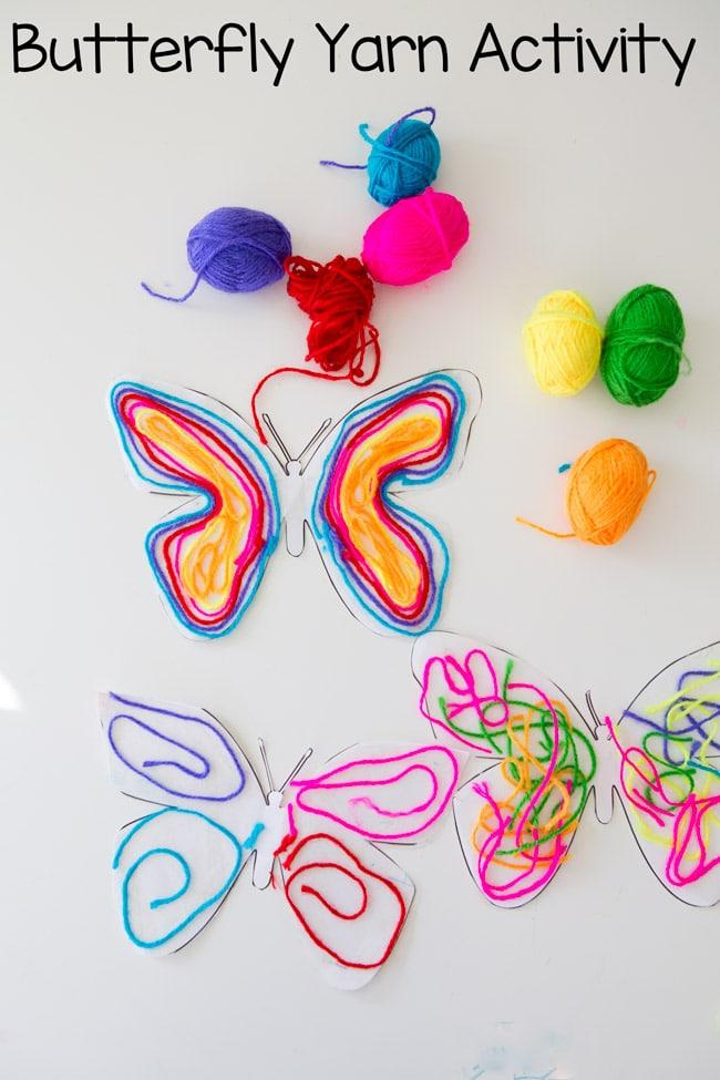 Butterfly-yarn-pin