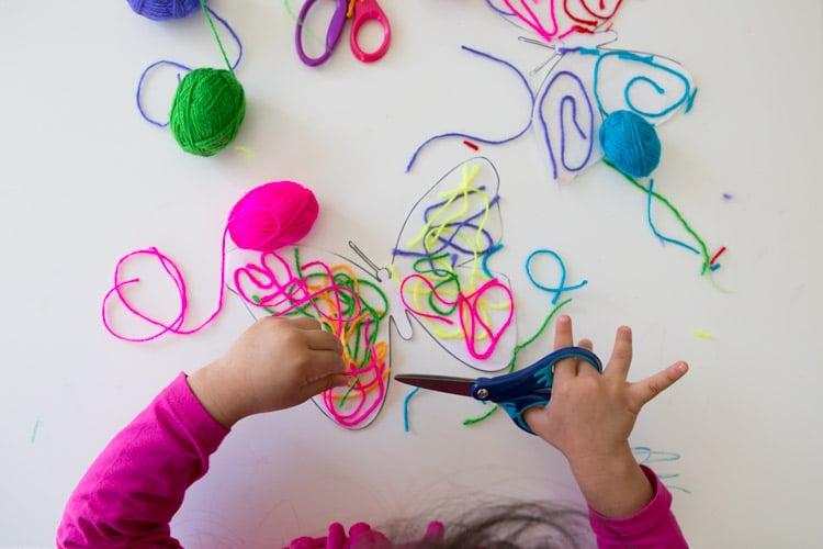 butterfly-yarn-art