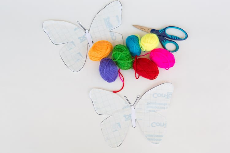 butterfly-yarn-prep
