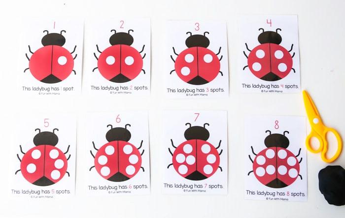 ladybug-counting-playdoh-mats