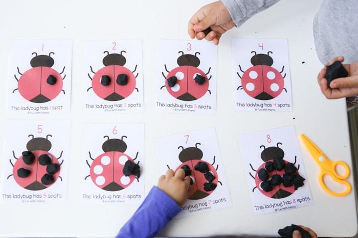 ladybug-playdoh-activity