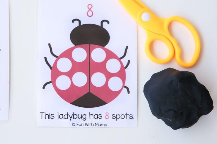 ladybug-playdoh-counting