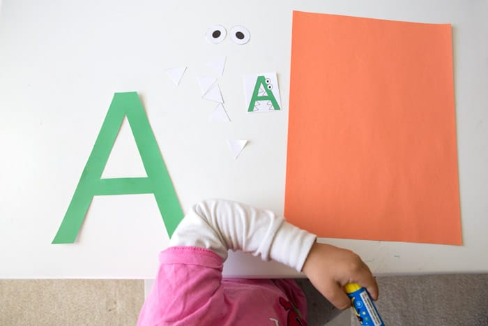 printable letter a crafts