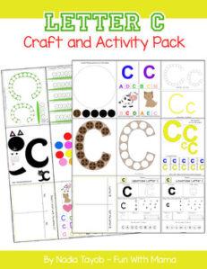 letter-c-activity-pack