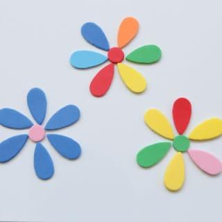 Spring Flower Matching Activity