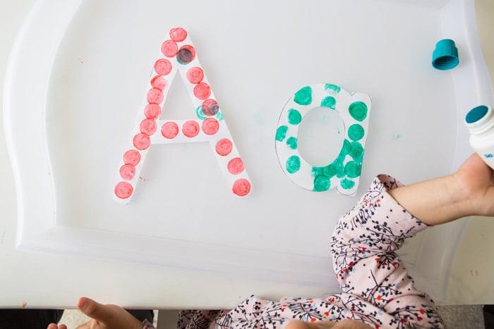 dot-letter-a