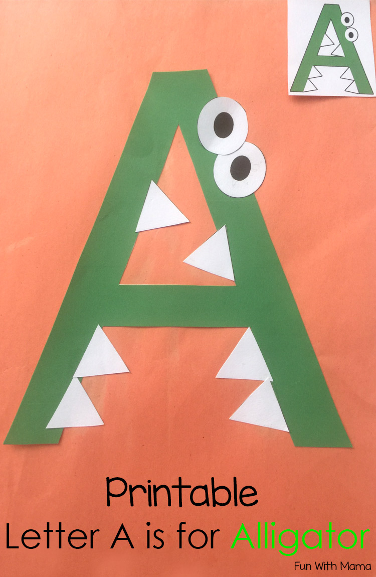 Art Crafts For The Letter A