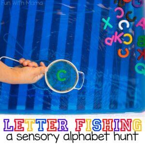Alphabet Letter Hunt Kids Activity