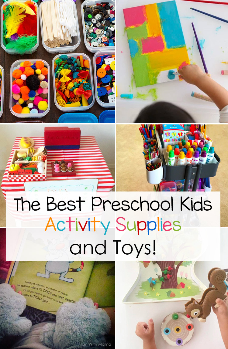The best preschool kids activity supplies and preschool kids toys, books, activity box, board games and more.