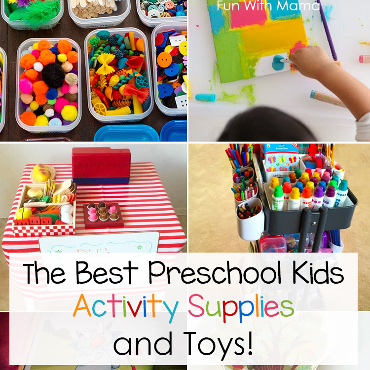 Best Preschooler Toys : Best preschool kids activity supplies and toys fun with mama