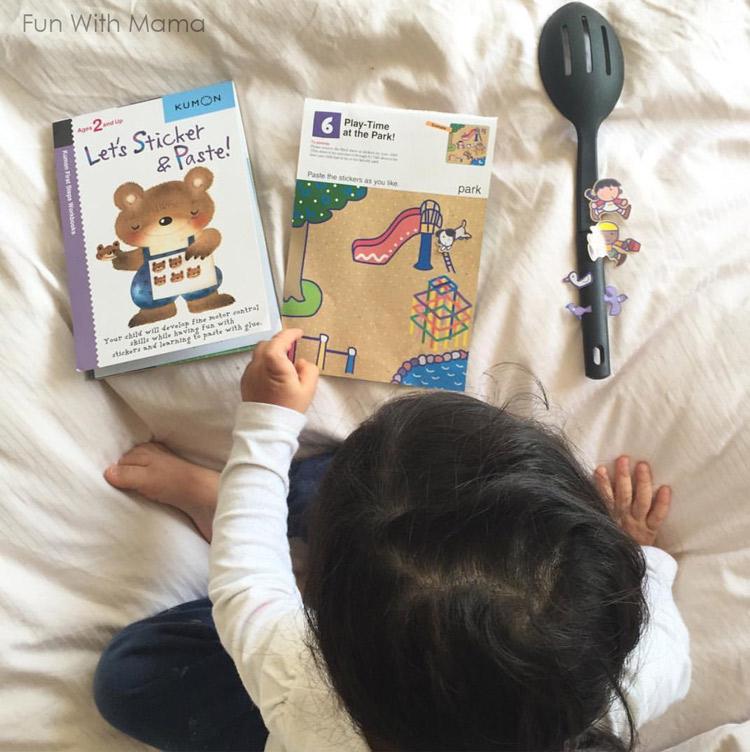 kumon-toddler-activity