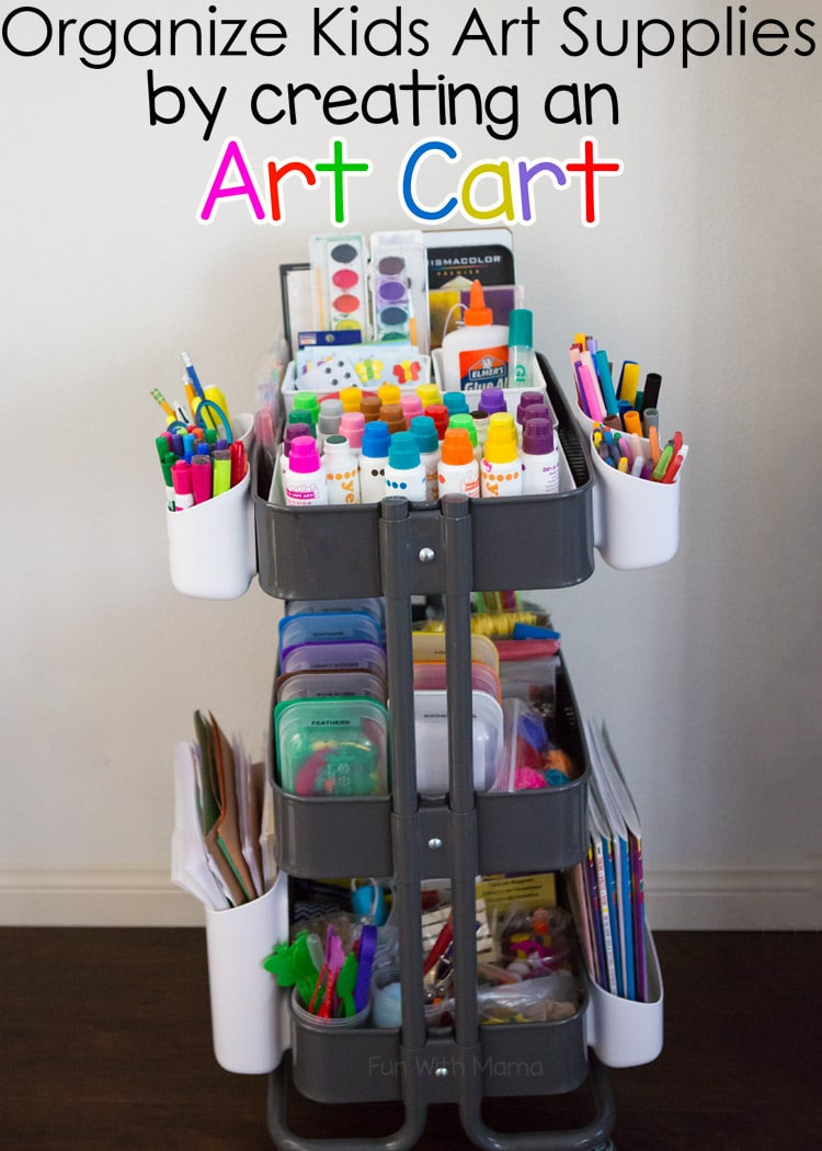 School Supplies Containers Craft For Toddlers