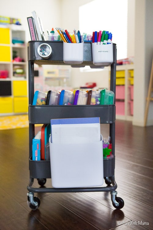 ikea craft cart organize supplies with an cart with 2220