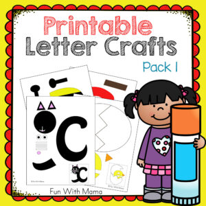 printable letter crafts for preschoolers
