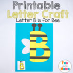 Letter B Crafts B is for Bee